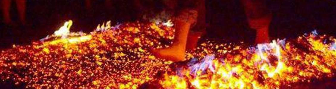 Erlebnis-Mentaltraining Feuerlauf