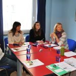 Teilnehmer beim Workshop zum richtigen Netzwerken