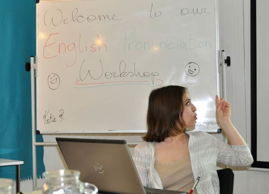 english-workshop: authenticity: katie at work
