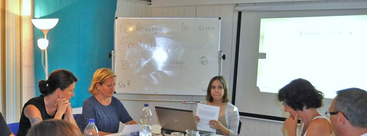english-workshop: authenticity: training
